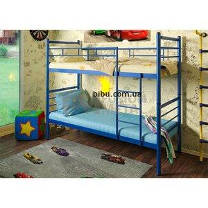 Кровать двухъярусная Акварель из металла