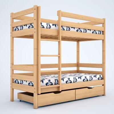 Двухъярусная кровать Дуэт 2 (80*190) производства Bibu - главное фото