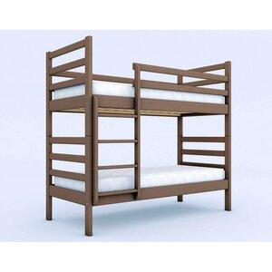 Двухъярусная кровать трансформер Твейс из ольхи