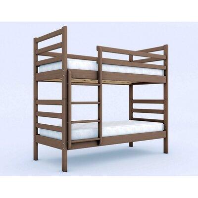 Двухъярусная кровать трансформер Твейс 80*190 сосна