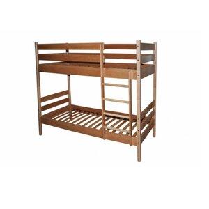 Двухъярусная кровать трансформер из бука (80*190)