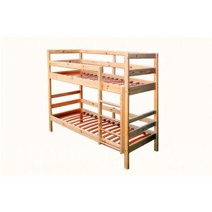 Кровать двухъярусная из сосны (80*190)