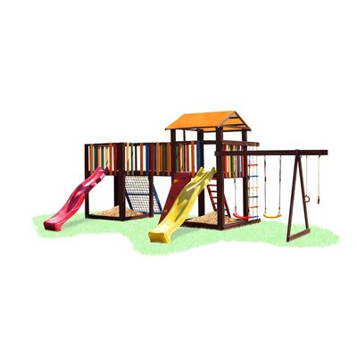 Детский игровой комплекс Babygrai -17 производства Бебиграй  - главное фото