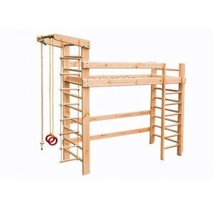 Спортивная кровать чердак