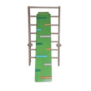 Доска двухсторонняя ребристая из сосны цветная 160 см