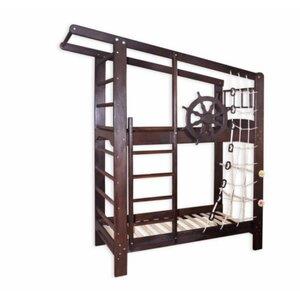 Кровать двухъярусная Капитан в тонировке