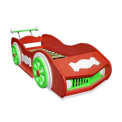 Кровать-машинка Red