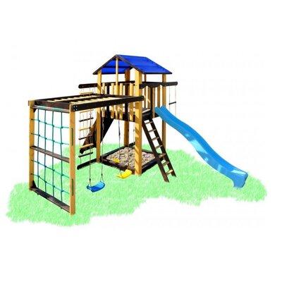 Детский игровой комплекс с рукоходом и качелями Babygrai -3 Пчелка