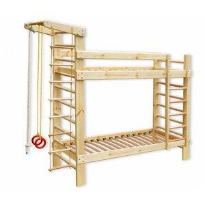 Детская двухъярусная спортивная кровать