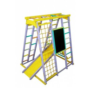 Детский спортивный комплекс Babygrai фиолетовый