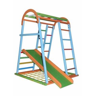 Детский спортивный комплекс Дракончик цветной производства Бебиграй  - главное фото