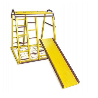 Детский спортивный комплекс Дракончик желтый производства Бебиграй  - главное фото