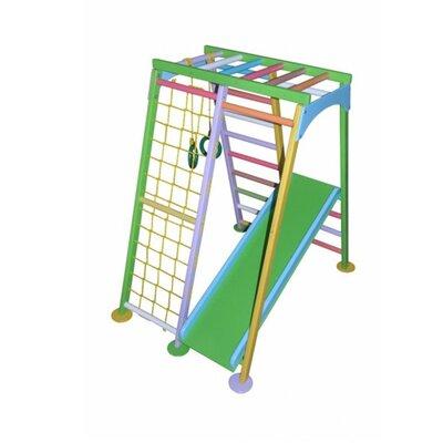 Детский спортивный комплекс Космолет цветной производства Бебиграй  - главное фото