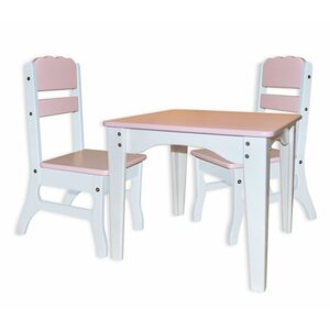 Столик и 2 стульчика Бабочка