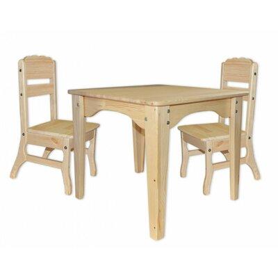Столик и 2 стульчика из сосны