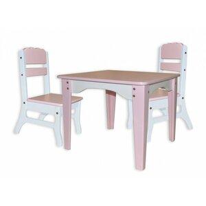 Столик и 2 стульчика Розовый Фламинго