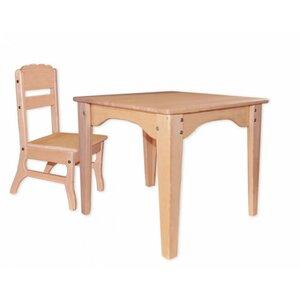 Столик и стульчик из бука