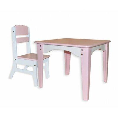 Столик и стульчик Розовый Фламинго