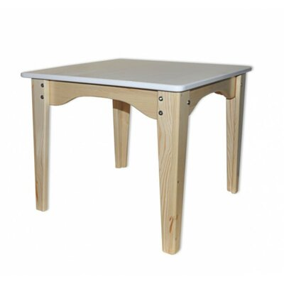 Столик комбинированный белый