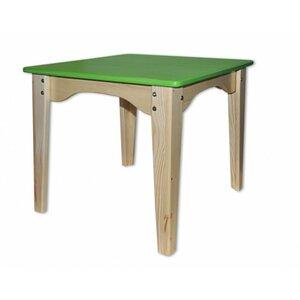 Столик комбинированный зеленый