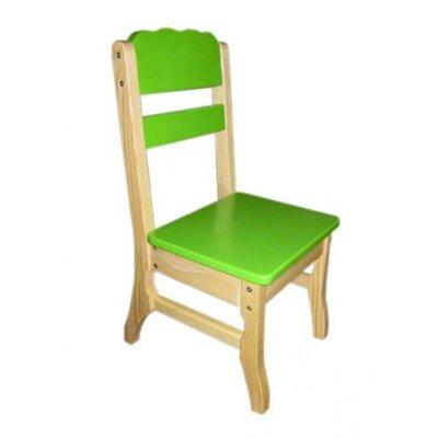 Стульчик комбинированный зеленый