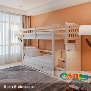 Двухъярусная кровать Кирилл-2 (90*190)