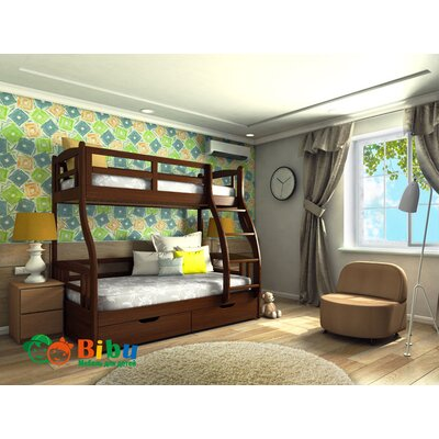 Фото Двухэтажной кровати Снежана в интерьере