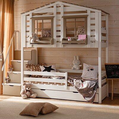 Двухэтажная кровать Теремок, 90*190 производства Bibu - главное фото