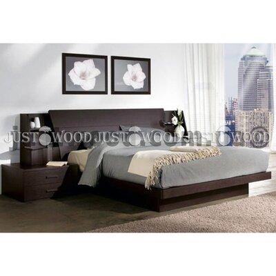 Двуспальная кровать Дакота 140*190 см производства Justwood - главное фото