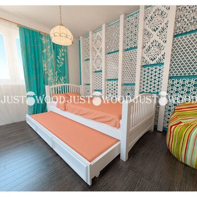 Одноярусная кровать Каролина производства JUSTWOOD - главное фото
