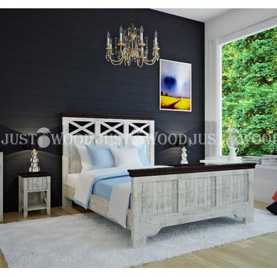 Двуспальная кровать Реприза 140*190 см производства Justwood - главное фото