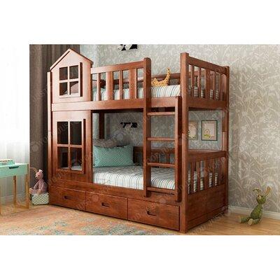 Двухъярусная кровать Дружба лайт производства JUSTWOOD - главное фото
