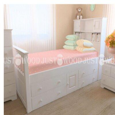 Подростковая кровать Папа Карло производства JUSTWOOD - главное фото