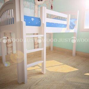 Кровать чердак Снежок