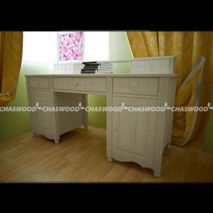 Стол 1 с полочкой Алиса