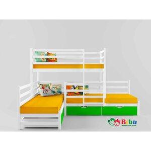 Двухъярусная кровать Трио (80*190)