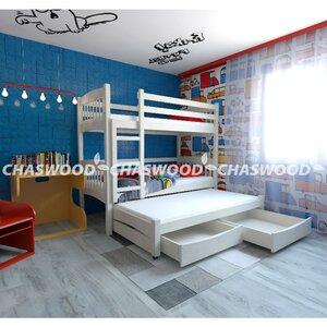 Двухъярусная кровать Трио+