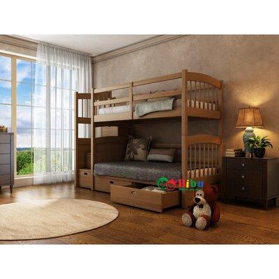Двухъярусная кровать Кирилл Макси (90*190) производства Bibu - главное фото