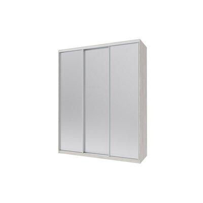 Шкаф купе Сити Лайт 225*60*225 3 Зеркало производства Doros - главное фото