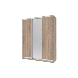Шкаф купе Сити 24 210х60х240 2ДСП+Зеркало