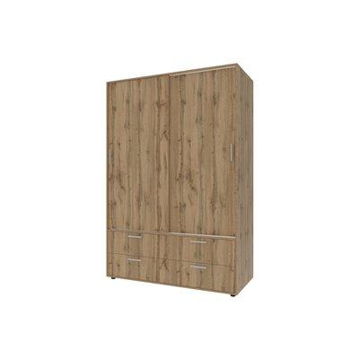 Гардеробный шкаф Честер 135х60х210 производства Doros - главное фото