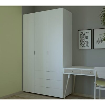 Гардеробный шкаф Гелар 1162х495х2034 производства Doros - главное фото