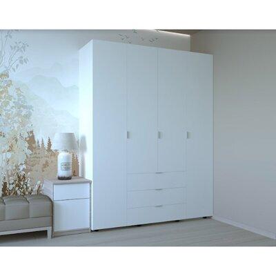 Гардеробный шкаф Гелар 1550х495х2034 производства Doros - главное фото