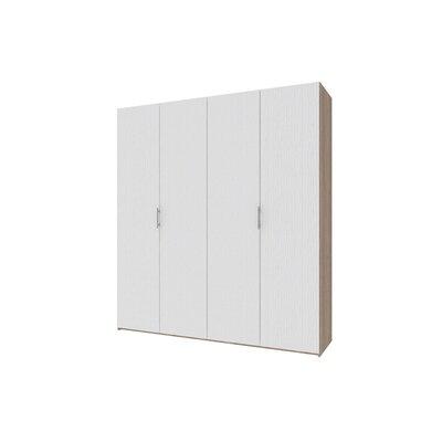 Гардеробный шкаф Норман 200х54х220 Белый производства Doros - главное фото