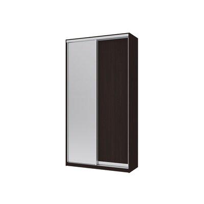Шкаф купе Сити Лайт 120*45*225 ДСП+Зеркало производства Doros - главное фото