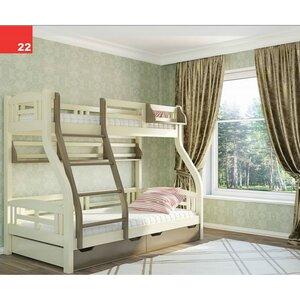 Двухъярусная кровать Светлана 80*200/120 , Венгер