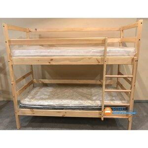 Двухъярусная кровать-трансформер из сосны (80*190)