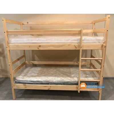 Двухъярусная кровать-трансформер из сосны (80*190) производства Bibu - главное фото