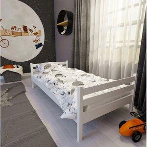 Кровать детская одноярусная FeliFam Classic Конструктор FC-101W Белый
