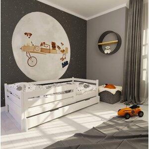 Кровать детская одноярусная FeliFam Classic Конструктор FC-103W Белый